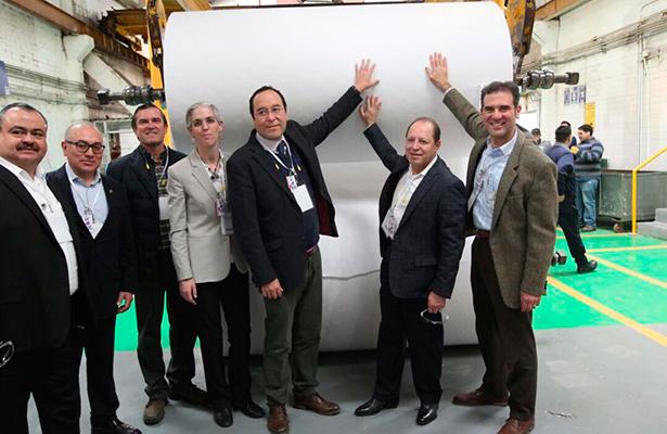 Da a conocer INE inicio de producción de papel seguridad para boletas