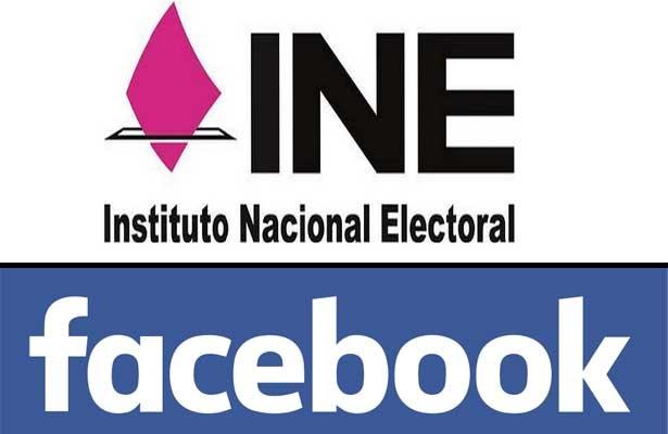 """Combatirá Facebook e INE """"fake news"""" previo a próximos comicios"""