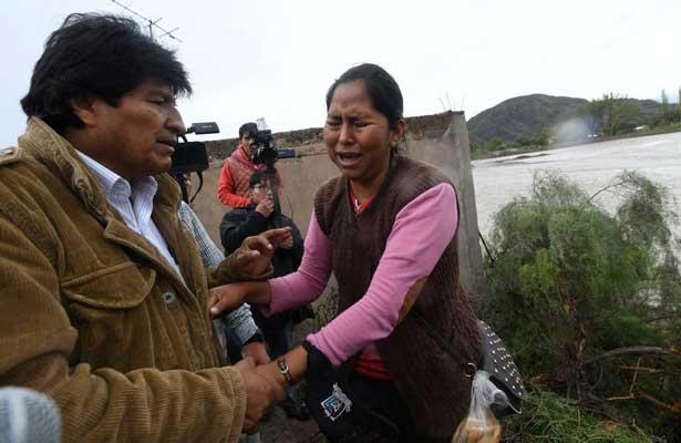 Declaran estado de emergencia en Bolivia por lluvias
