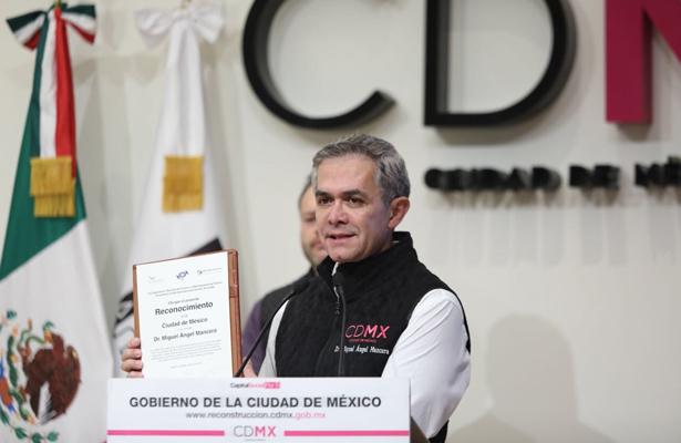 OMT entregó un reconocimiento internacional a la Ciudad de México