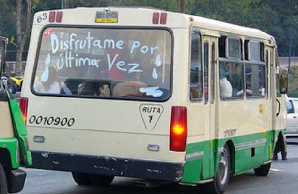 Adiós a más de 300 microbuses que circulaban sobre el Eje 5 y 6
