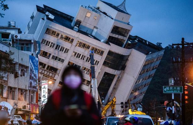 Son siete los muertos y más de 250 heridos por terremoto en Taiwán