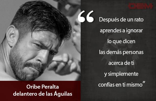 Oribe Peralta entra a la moda de Almeyda