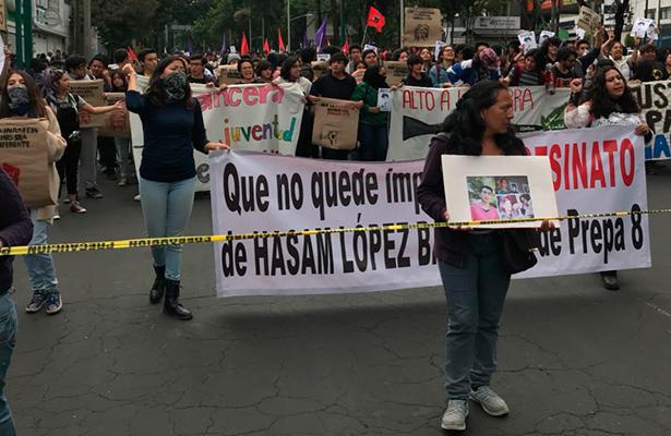 Con Marcha demandar justicia para Marco Antonio Sánchez
