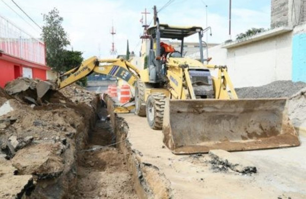 Reconstruye SACMEX red hidráulica en Tláhuac