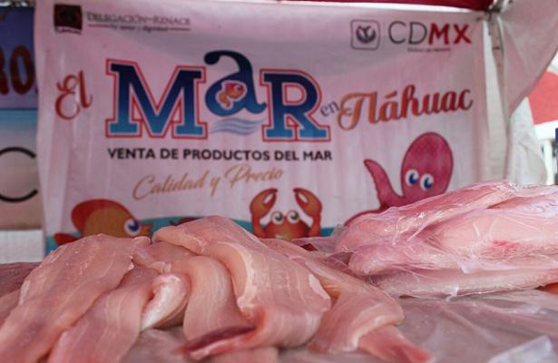 Promueven consumo de productos del mar, en Tláhuac