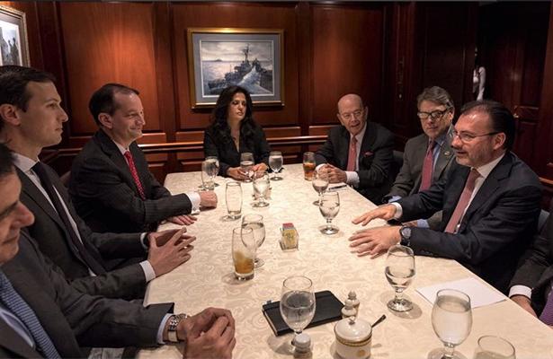 Habría reunión Peña-Trump: SRE