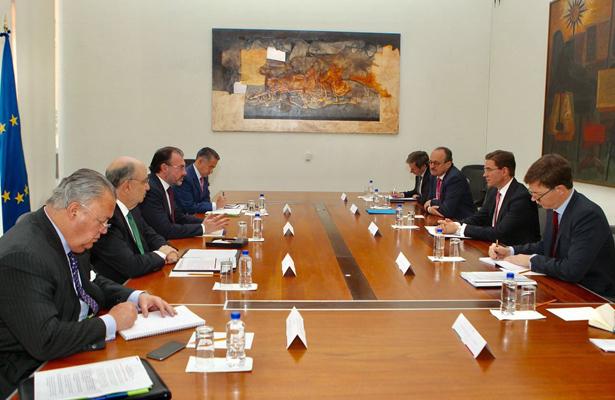 Se reúne el Canciller Luis Videgaray con el Vicepresidente de la Comisión Europea