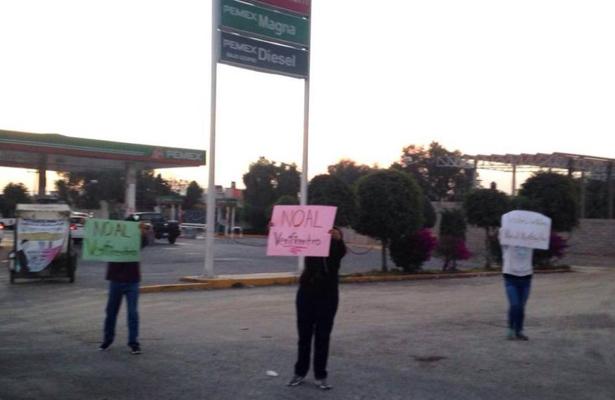 Vecinos rechazan que construyan verificentro en Ecatepec