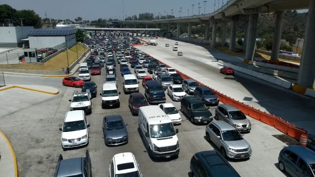 En Jueves Santo, la México-Cuernavaca es la vía más transitada