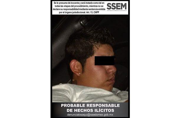 Captura la SSEM a probable responsable de robo de vehículo