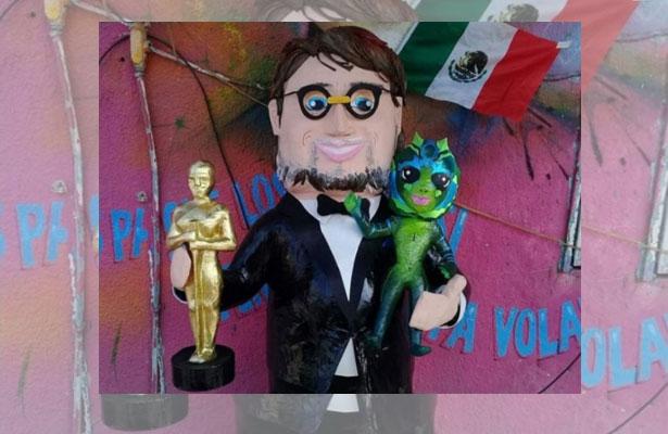 ¡Ya hay piñata de Guillermo del Toro!