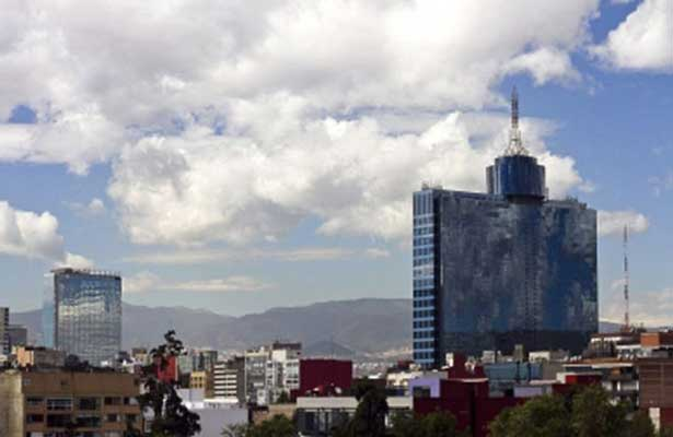 Valle de México registrará cielo medio nublado en la CDMX