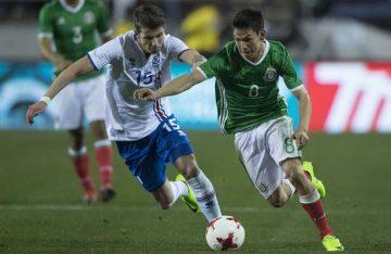 México enfrentará mañana a Islandia