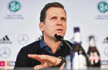 México, el rival más complicado: Oliver Bierhoff