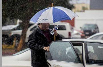 Prevén lluvias aisladas en la Ciudad de México