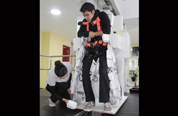 Robot exoesqueleto de la CDMX, único en el país