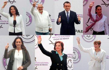 Debaten aspirantes al Gobierno de la Ciudad de México