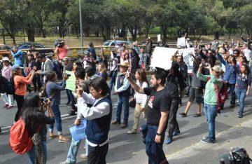 Marchas complicarán el tránsito en la Ciudad de México