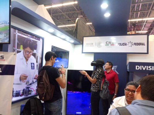 Policía Federal realizan demostración de innovación tecnológica en Guadalajara