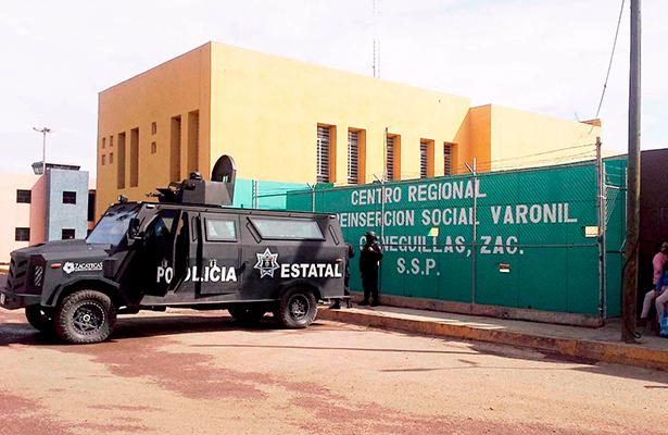 Trasladan a 15 reos de Zacatecas a penales federales