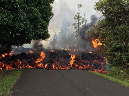 Galería: La erupción del Kilauea en imágenes