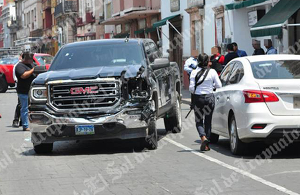 Balacera desata pánico en la Av. Guerrero