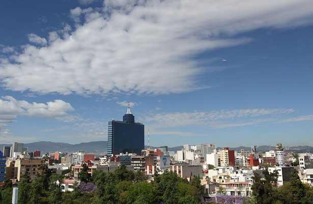 Prevén día con cielo despejado en la Ciudad de México
