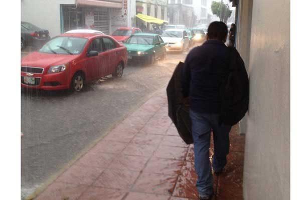 Potencial de lluvia y granizo en la CDMX