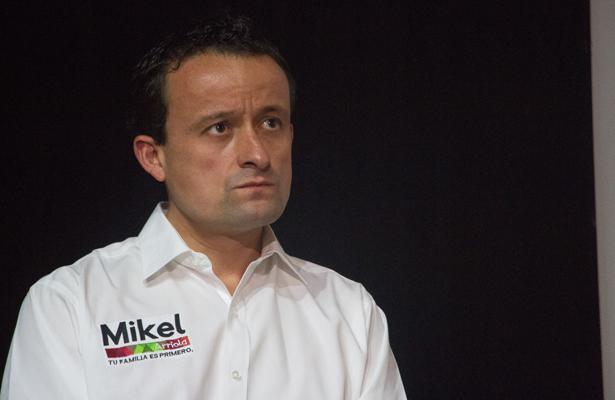 Arranca Mikel campaña vs Sheinbaum