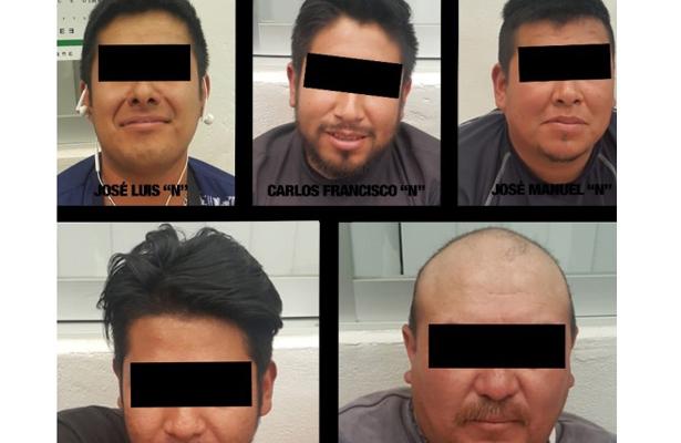 Detienen a cinco huachicoleros en el Estado de México