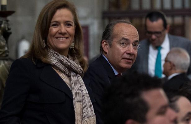 Expresa Calderón su apoyo a Zavala tras retirarse de la contienda