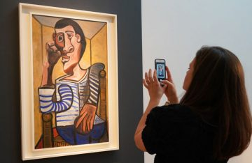 """Retirado de subasta un cuadro de Picasso por daños """"accidentales"""""""