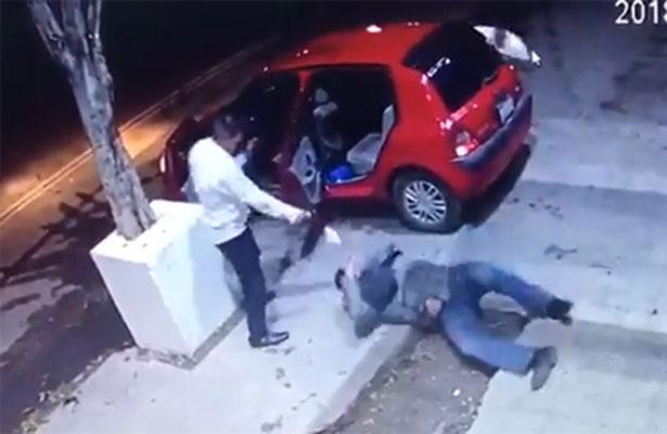 Video Mueren dos tras enfrentamiento en la Miguel Hidalgo