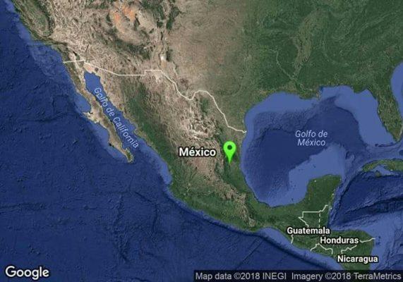 Se registra sismo en Ciudad Mante, Tamaulipas