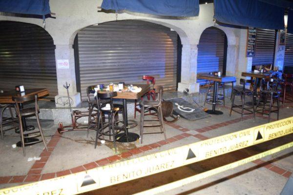 Reportan balacera en La Cervecería de Barrio en Universidad