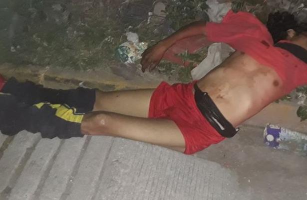 Lo abandonan con un balazo en el pecho en Ecatepec