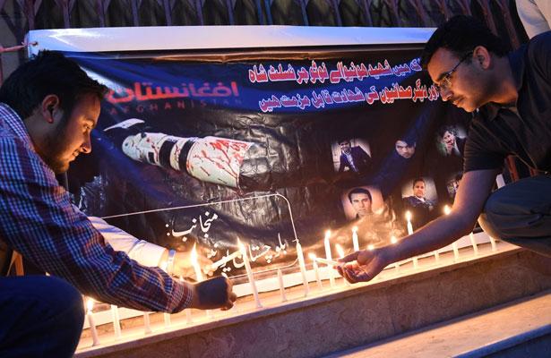 Rinden homenaje a periodistas afganos en el Día Mundial de la Libertad de Prensa