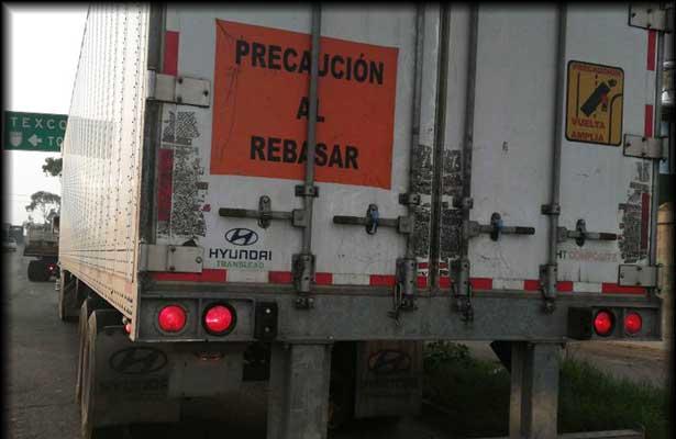 Recupera SS caja de tráiler en Ecatepec