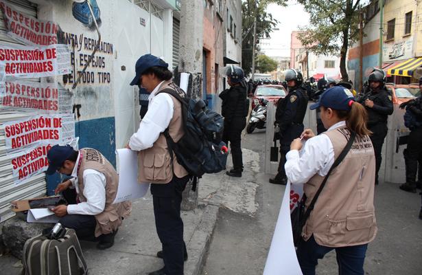 Decomisan autopartes en la colonia Buenos Aires