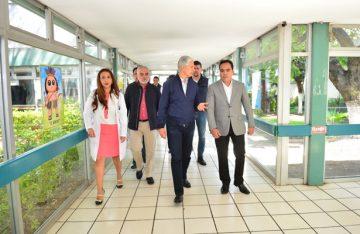 Recorren del Mazo y Víctor Gálvez, banco de lactancia
