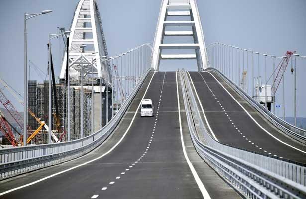 """EEUU """"condena"""" la construcción de Rusia de un puente con Crimea"""