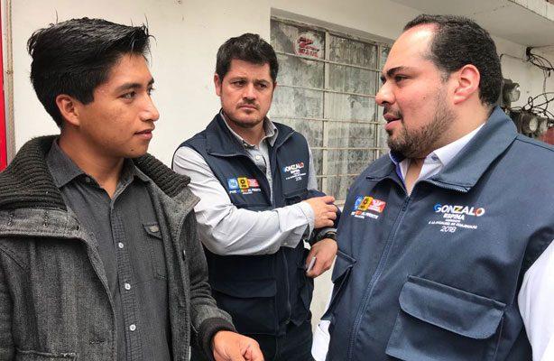 Crear empleos para erradicar la delincuencia: Gonzalo Espina Miranda