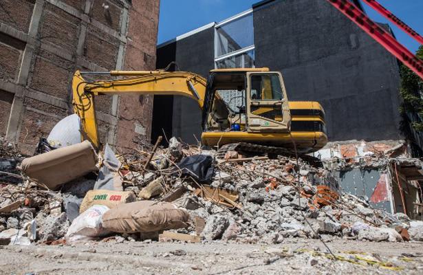Suman 47 edificaciones derribadas luego de sismo