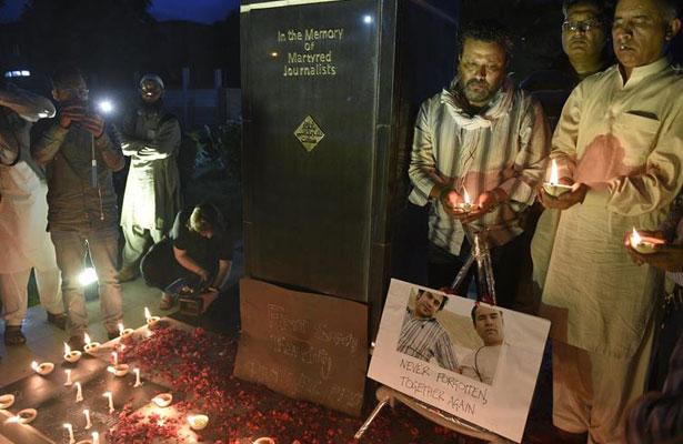 Despiden a periodistas en Afganistán