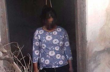 Esposa se suicida en el patio de su casa