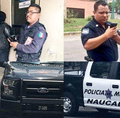 Policías de Naucalpan levantan infracciones y las perdonan según sea el caso