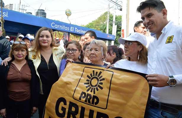 """""""Morena en el proyecto de la corrupción"""", Elizabeth Mateos"""