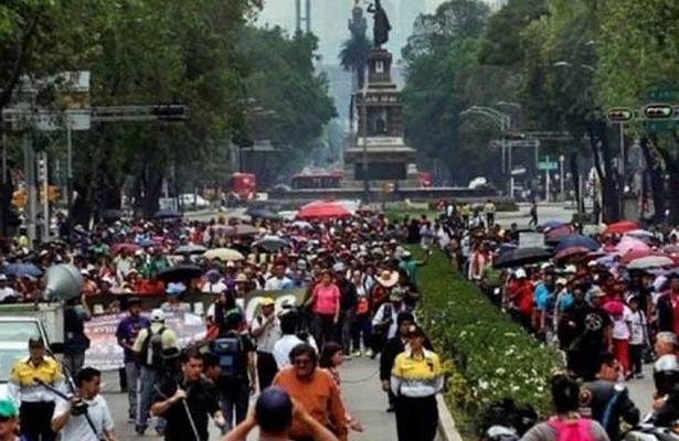 Manifestaciones afectarán el tránsito de la CDMX