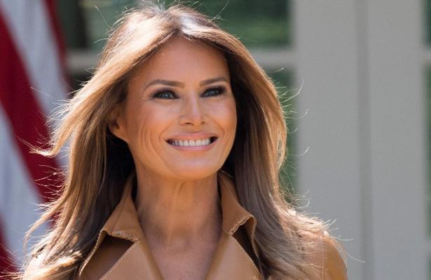 """Melania """"está bien"""" tras ser operada de los riñones, afirma Trump"""